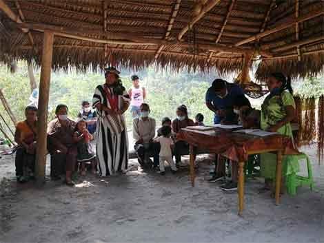 Conocimiento ancestral para enfrentar la pandemia en Perú